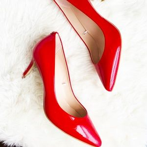 Kate spade red patent Pumps